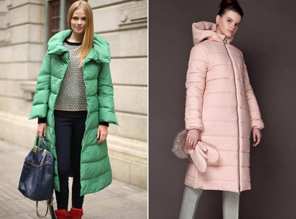 Пуховики осень модные тенденции фото