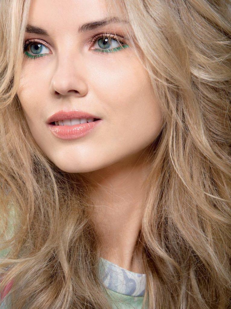 Блондинка натцральная