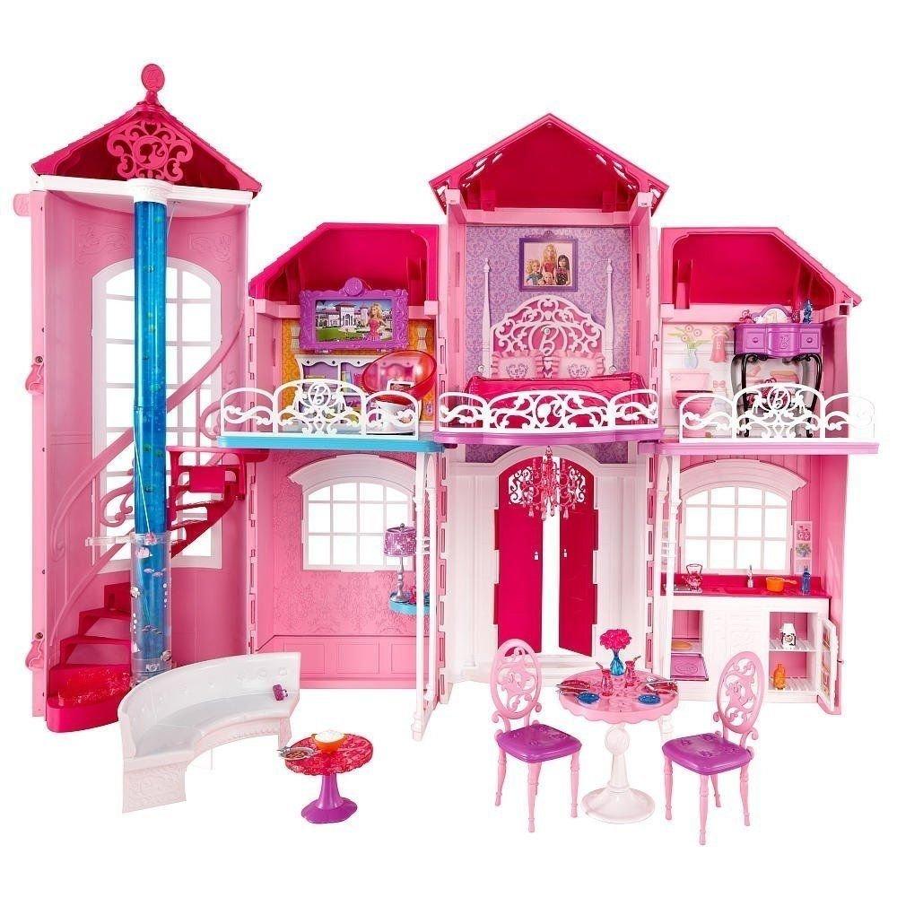 сразу картинки кукол барби дом мечты кот сам