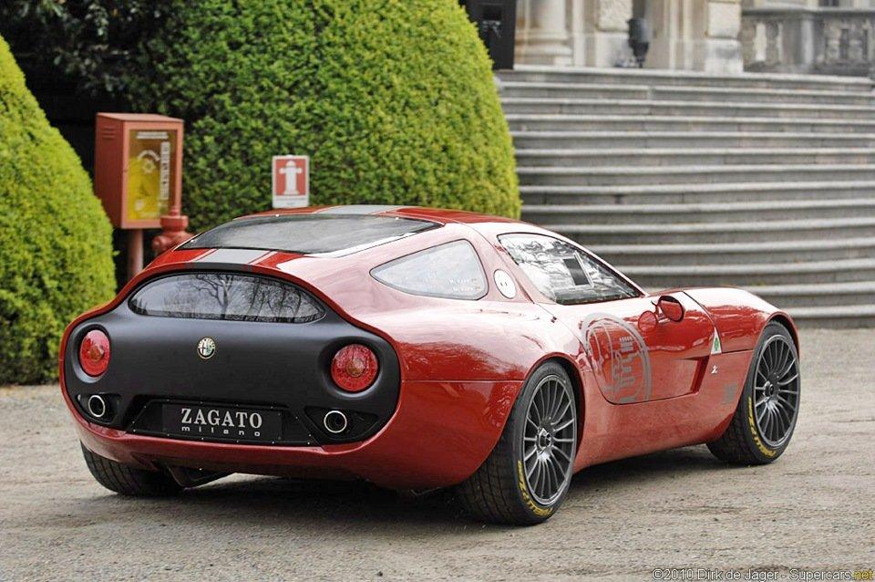 Десятилетиями Загато сотрудничала с компанией Alfa Romeo, которая, кстати,  24 июня 2010 года праздновала своё столетие.