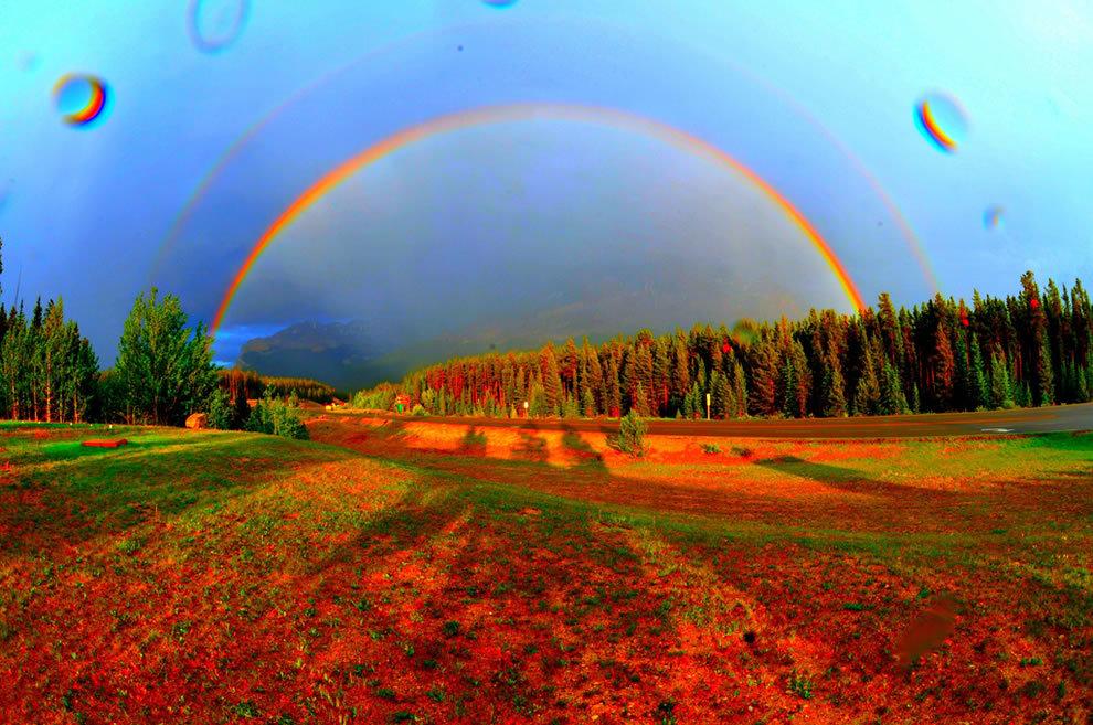 Картинки планеты радуги