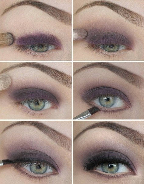 Как красиво накрасить глаза пошаговые инструкции с фото