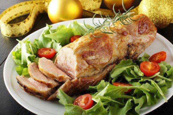 Свинина запеченная с французской горчицей в духовке рецепт