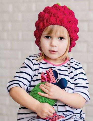 21 карточка в коллекции вязаные шапки для девочек своими руками