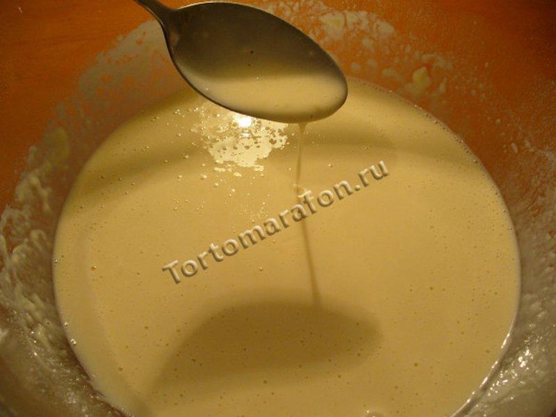 дрожжевое тесто на молоке для блинов