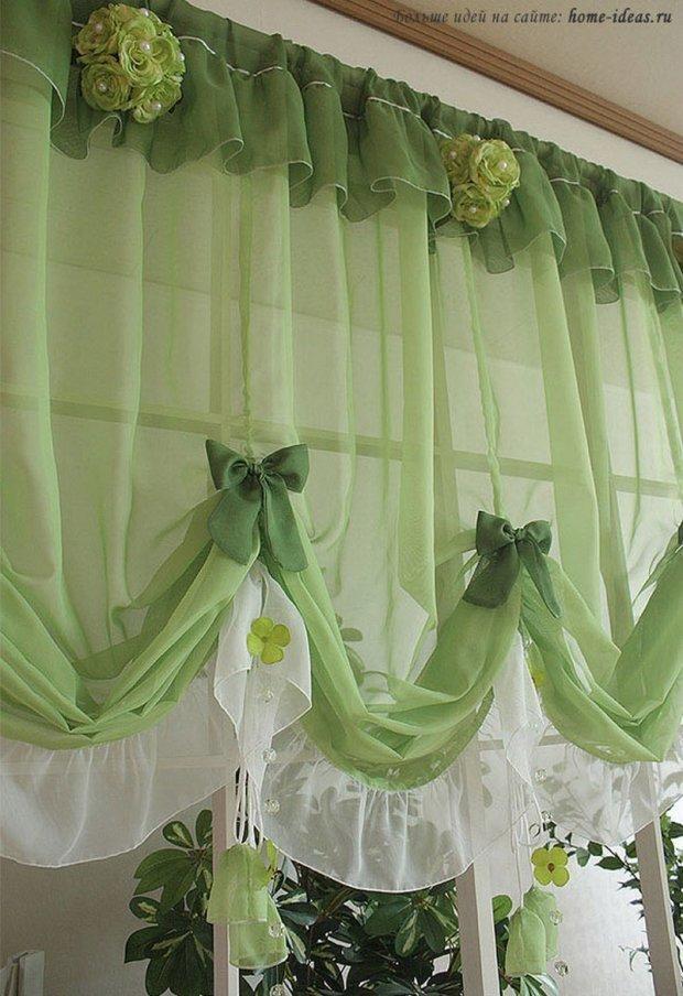 красивые шторы для кухни карточка пользователя Tihon4eva в яндекс