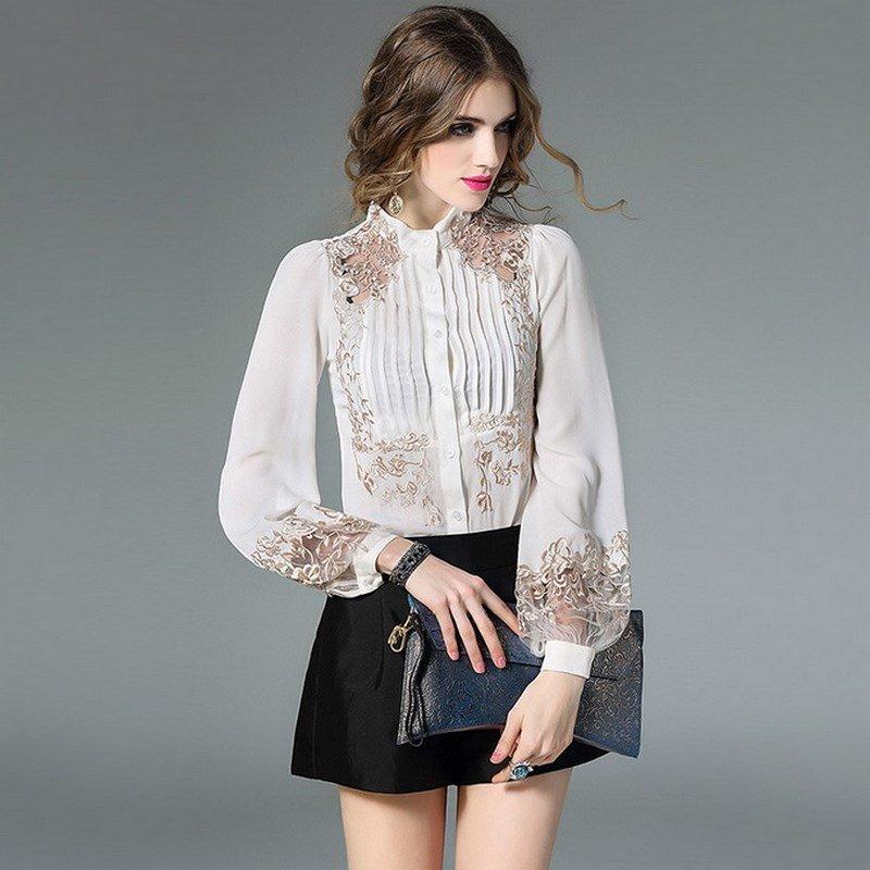 Самые модные блузки на фото