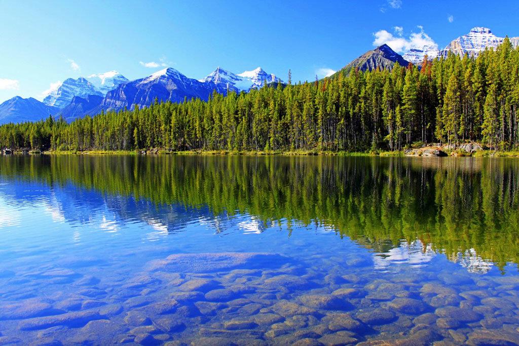 Картинки озера, поздравления бабушке