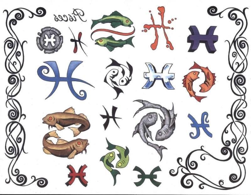 Тату знаки зодиака картинки