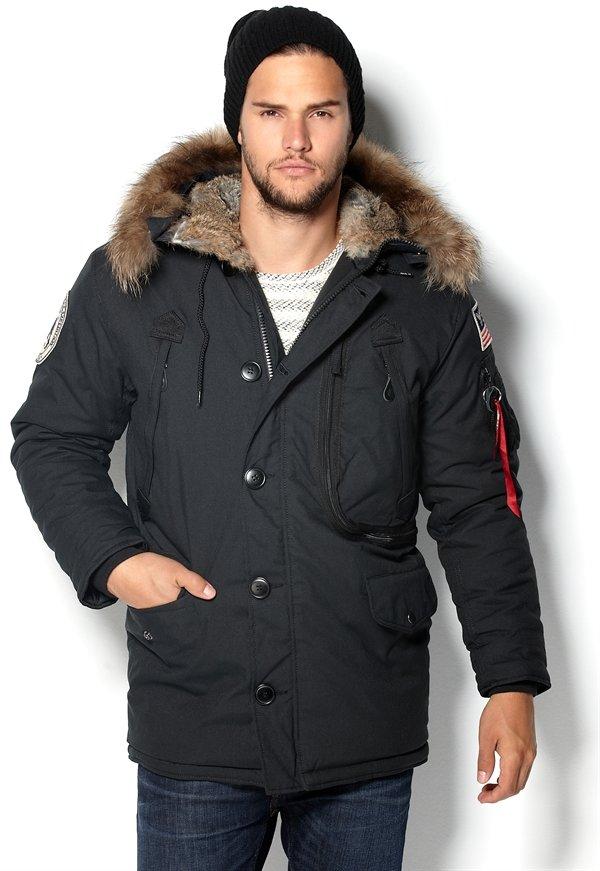 Куртка мужская на натуральном меху