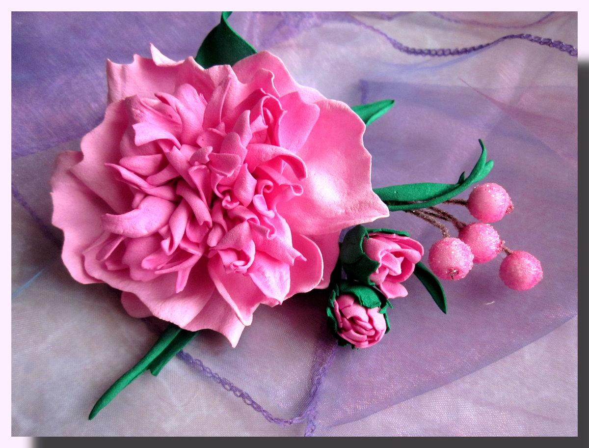 изделия из фоамирана фото и схемы цветов нисколечко унывай