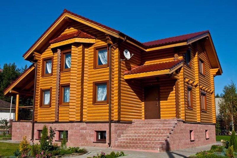 Инструкция по монтажу домов из бревна