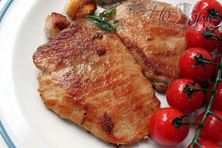 эскалоп из свинины рецепт приготовления-хв5