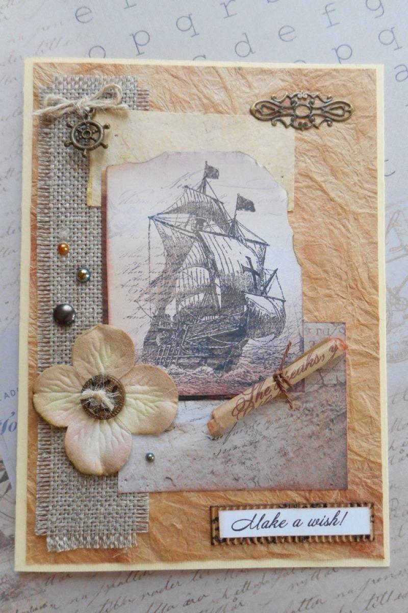 Интересные формы открыток в скрапбукинге