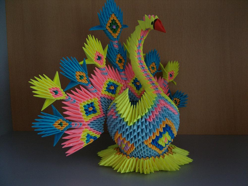 Модульное оригами все схемы в картинках