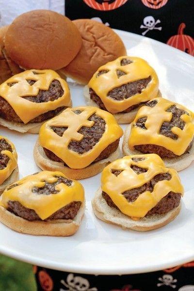 Что приготовить на Хэллоуин - Джек-бургер