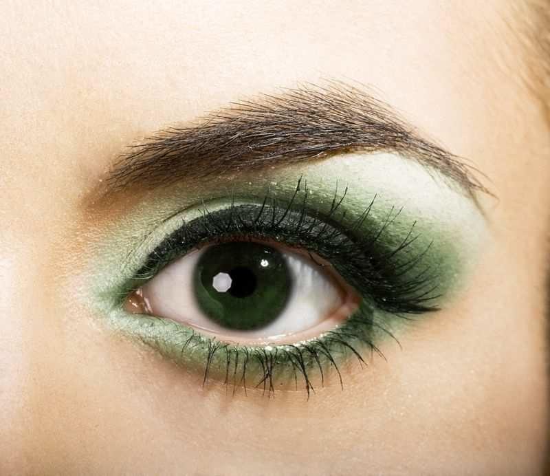 Очень красивые картинки зеленых глаз