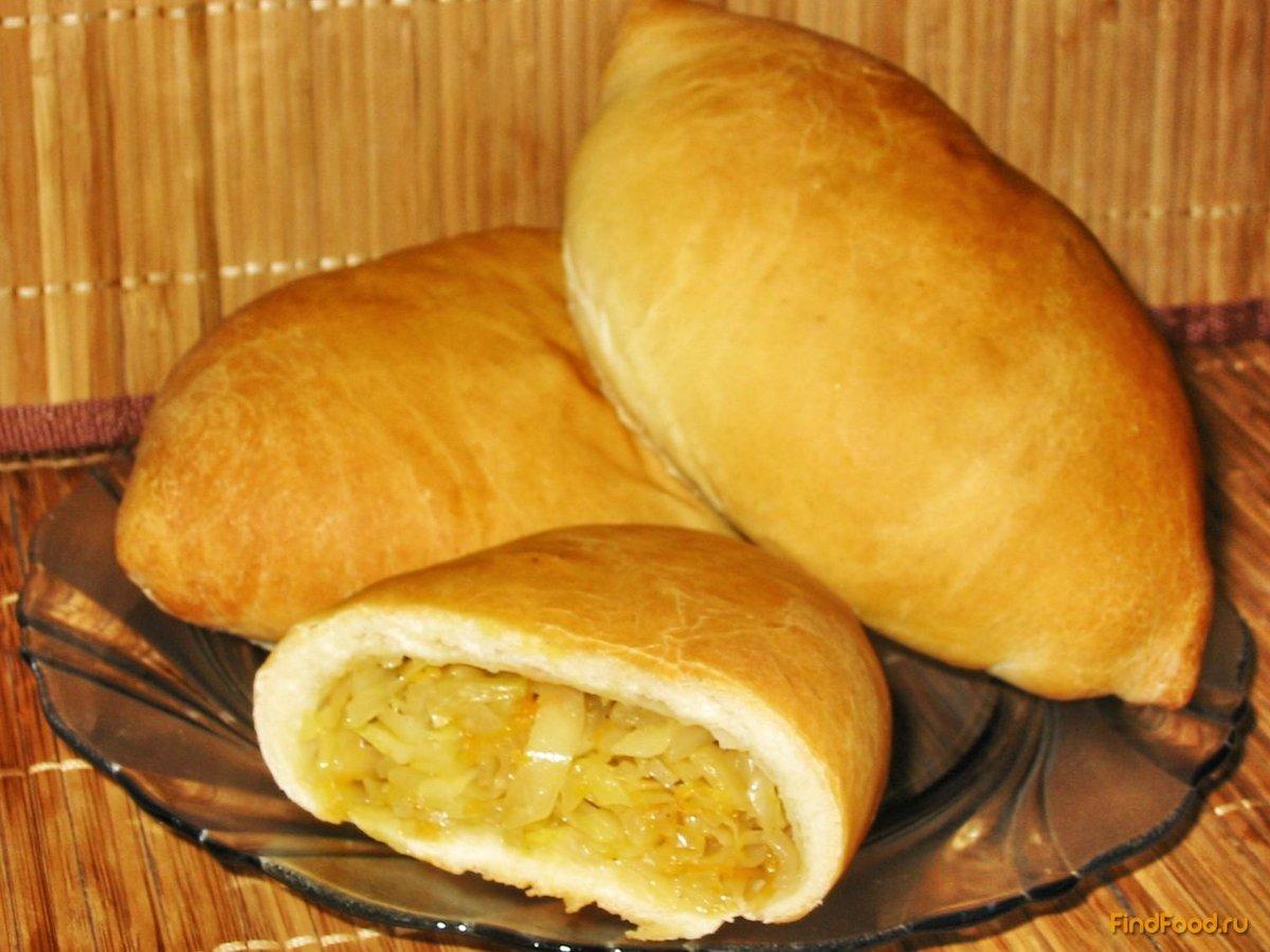 пирожки со свежей капустой в духовке рецепт с фото