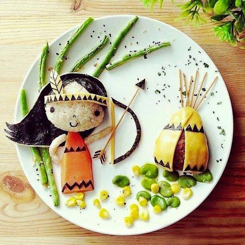 Смешные, блюда в картинках для детей