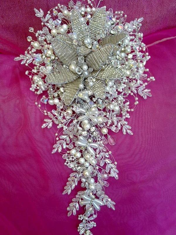 Свадебный букет из бисера видео
