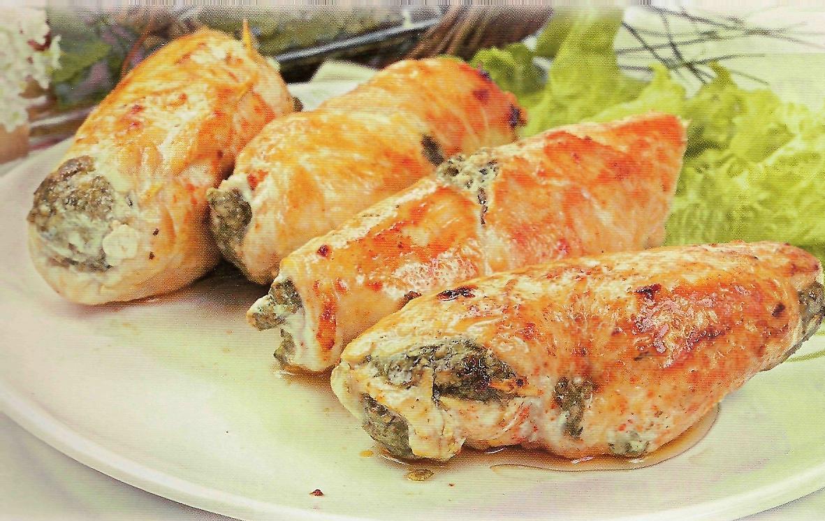 куриные рулеты с начинкой рецепты с фото в духовке