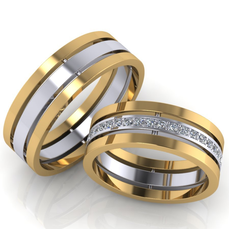 кольца обручальные парные купить недорого москва