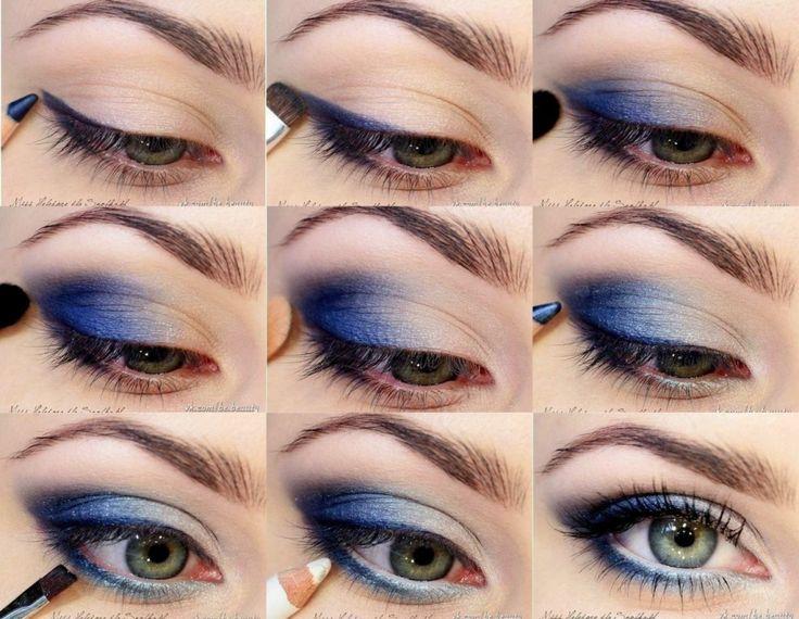 Blue Eye Makeup Tutorials Card From User Katamaksimova214 In