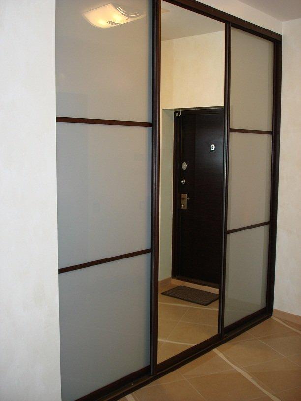 """Шкаф купе в прихожую. прихожие фото. мебель в коридор """" - ка."""