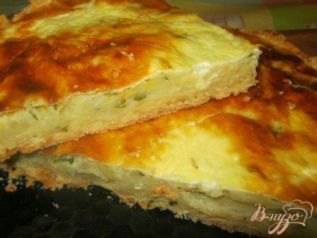 Пирог с толченой картошкой в духовке