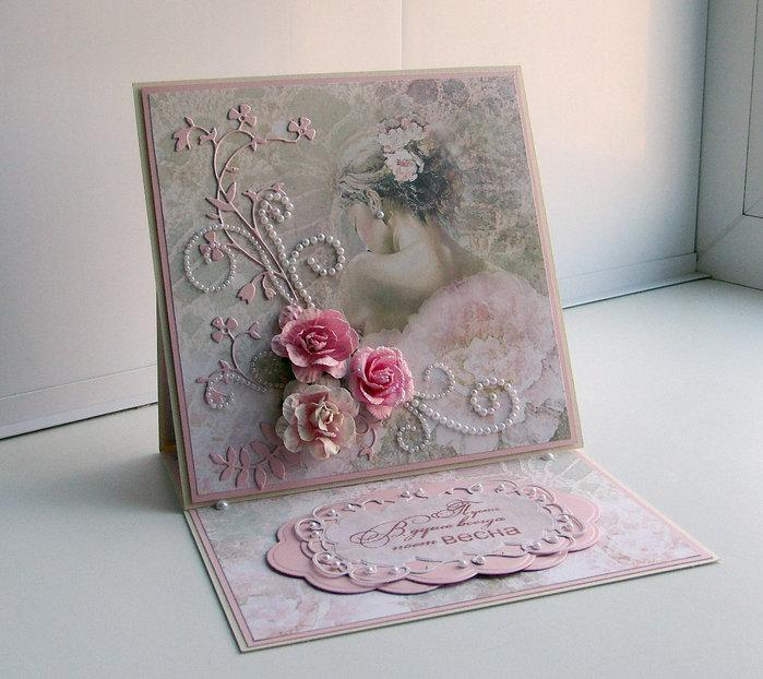 Скапбукинг открытки