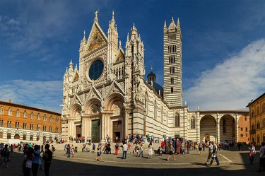 собор в сиене италия