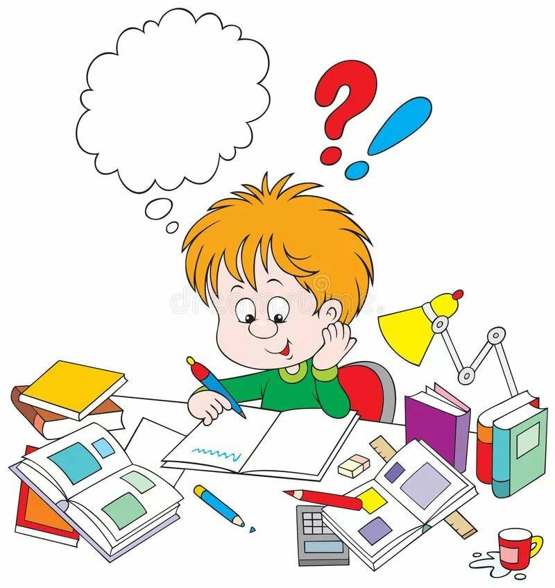 Что делают дети в школе картинки