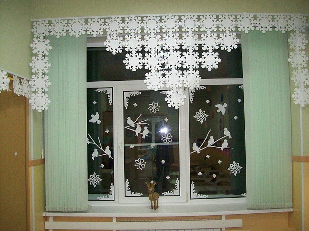 белорусские украшения окон на новый год фото традиционно достаются