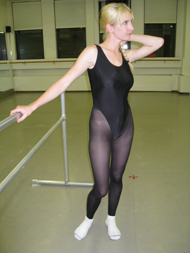 Ballet leotard fetish