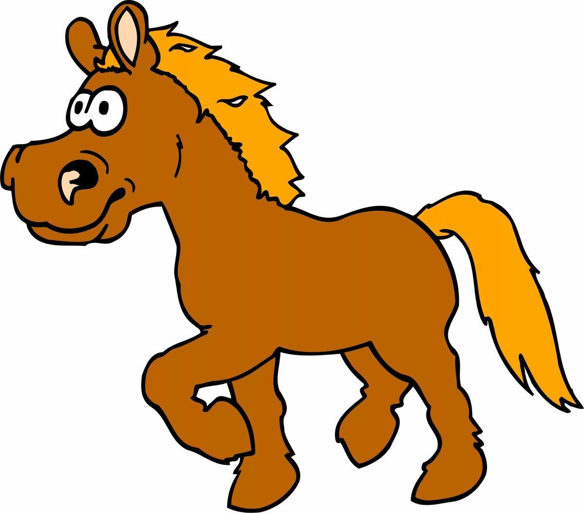 Картинки с изображением лошадь для детей