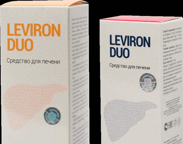Средство для восстановления печени Leviron Duo в Ужгороде