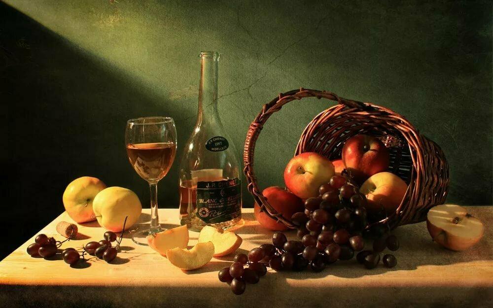 первую очередь натюрморты с бутылкой и фруктами фото также выразили