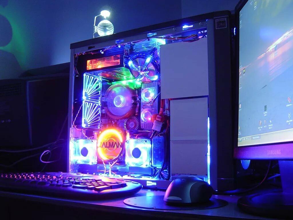 светящиеся картинки на компьютер