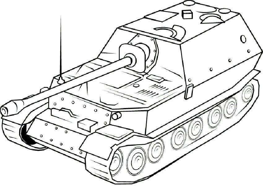 пожалуйста, раскраска водяные танки ходу один