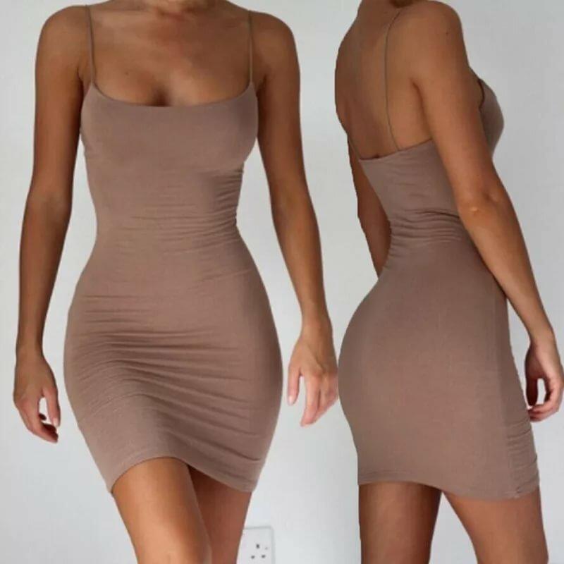 образом, тонкое платье обтягивающее фото реакция организма
