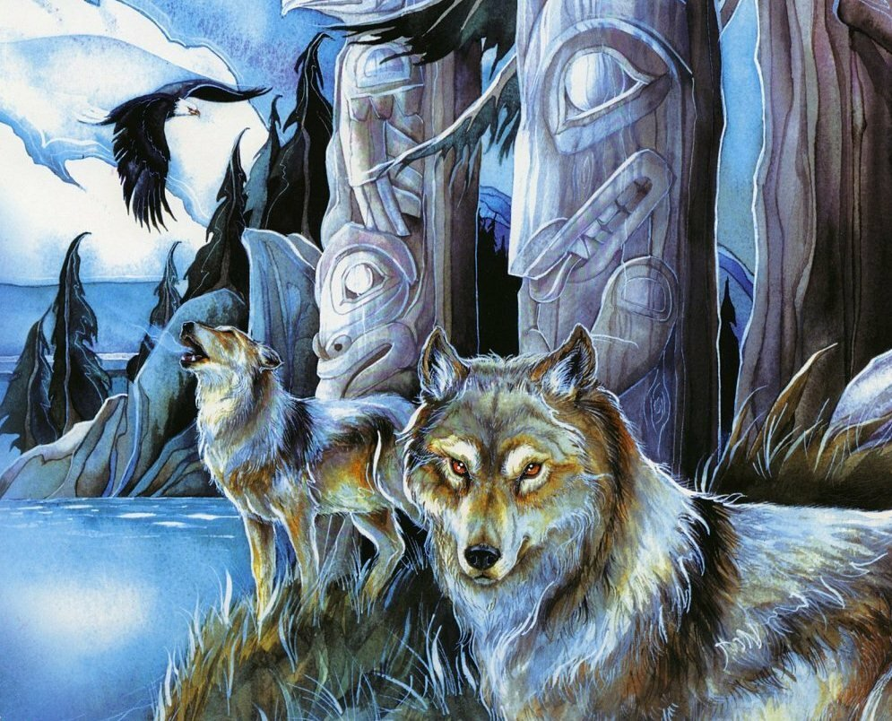 Культ волка картинки