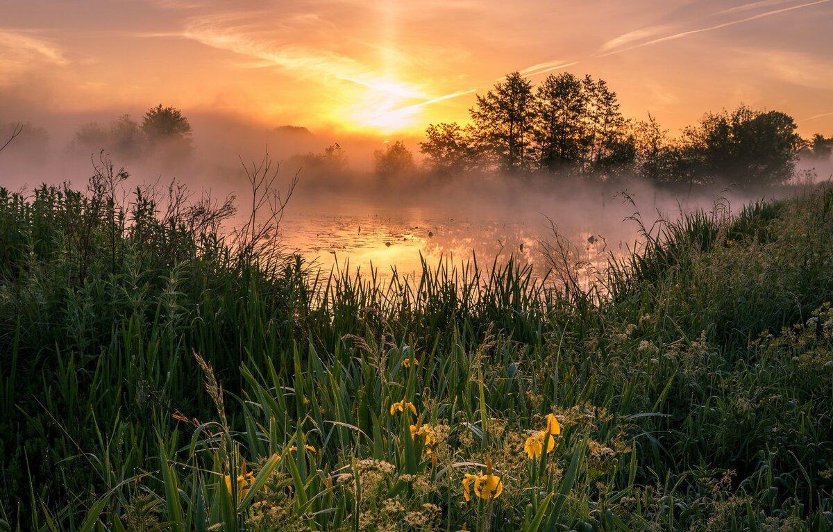 человек фото красивых утренних пейзажей удовольствием поделюсь