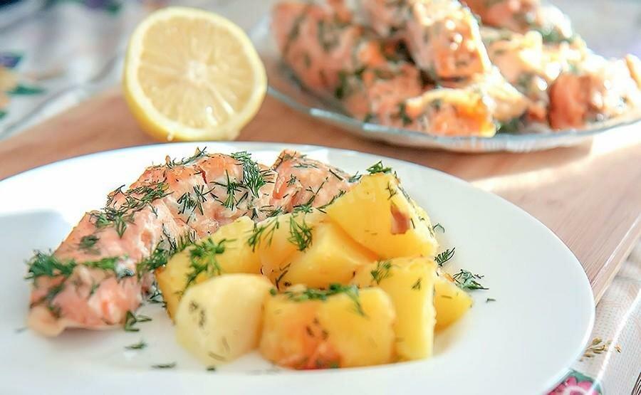 Ужин из рыбы рецепты с фото