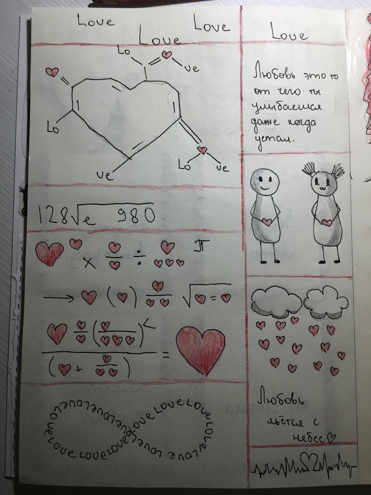 Картинки про любовь для дневника