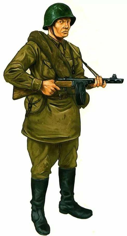 Солдаты ссср в картинках