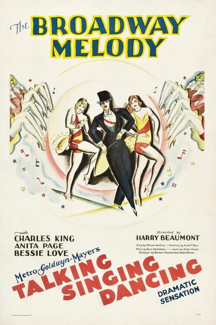 Бродвейская мелодия (США, 1929 год) смотреть онлайн