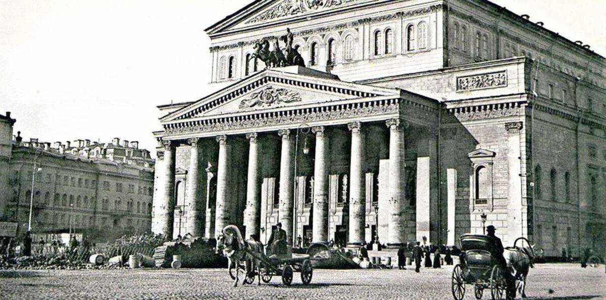 Старый театр картинка
