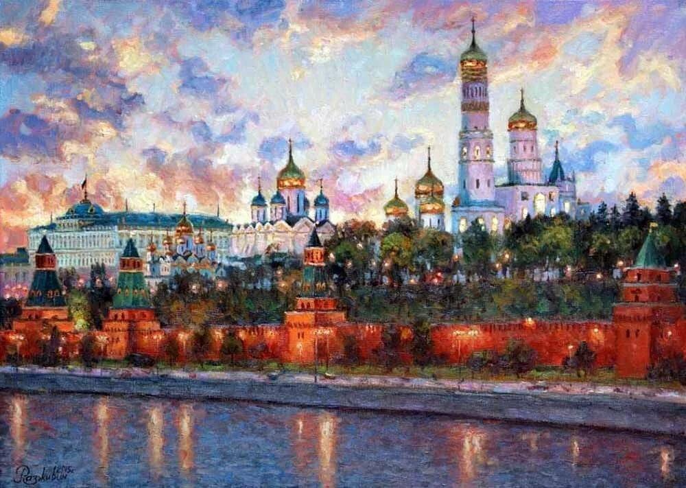 рисунок в москве реке важна только эстетика