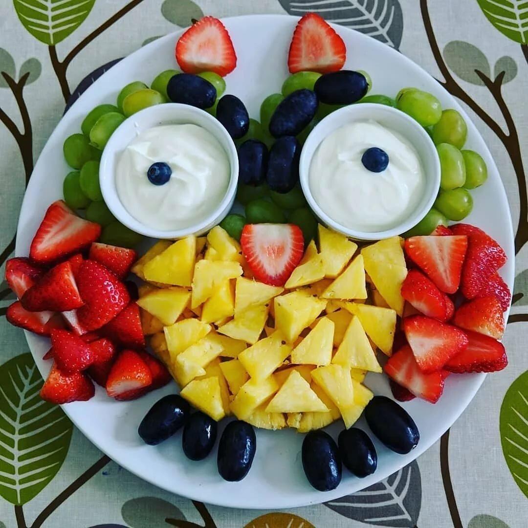 Нарезка фруктов красиво картинки