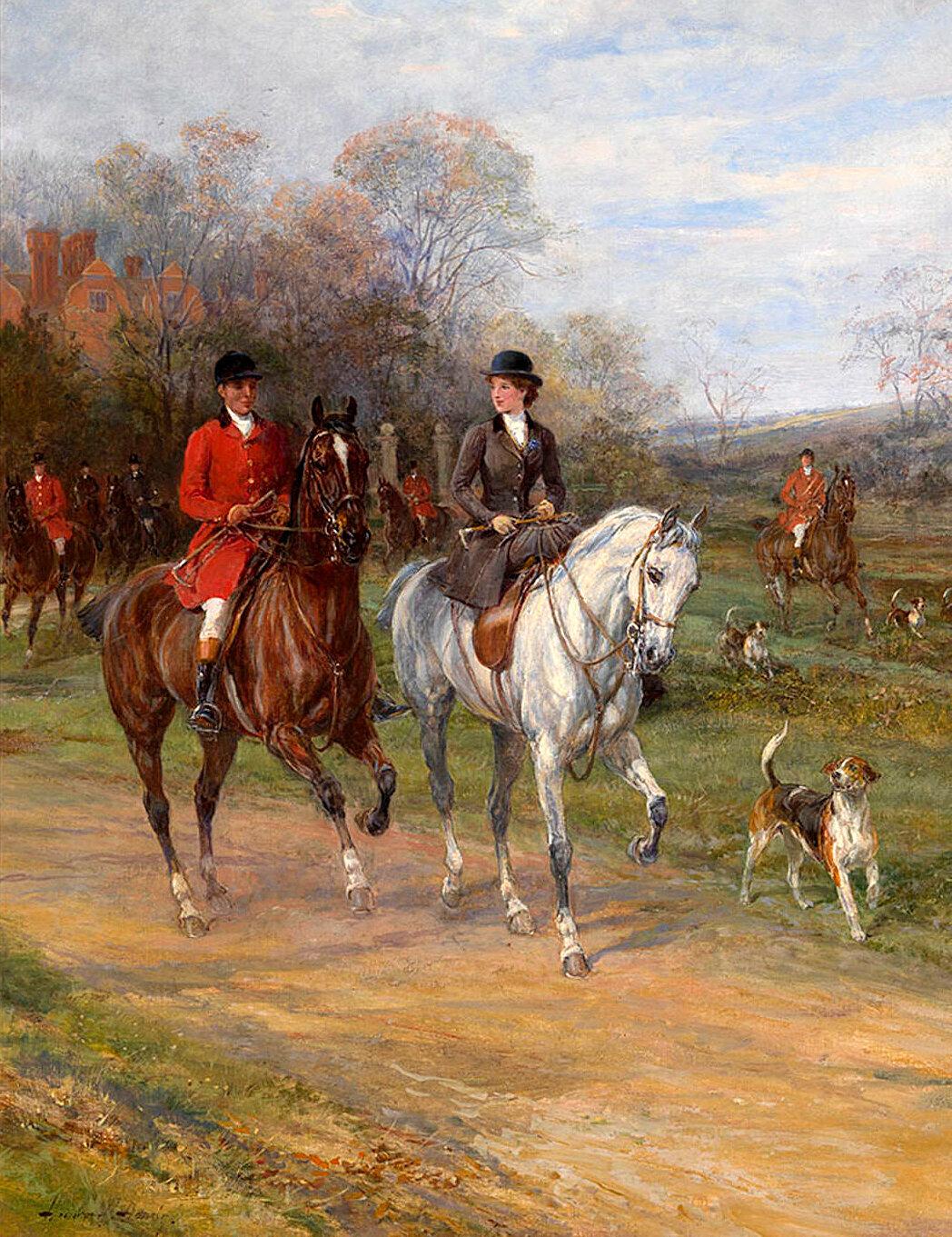 приложения картинки для декупажа лошади и охота ферраз
